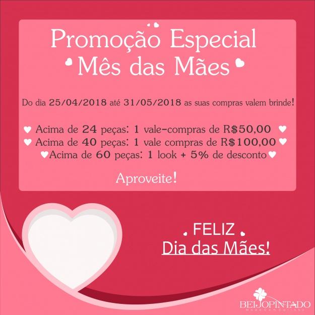 ♥ Promoção Mês das Mães ♥