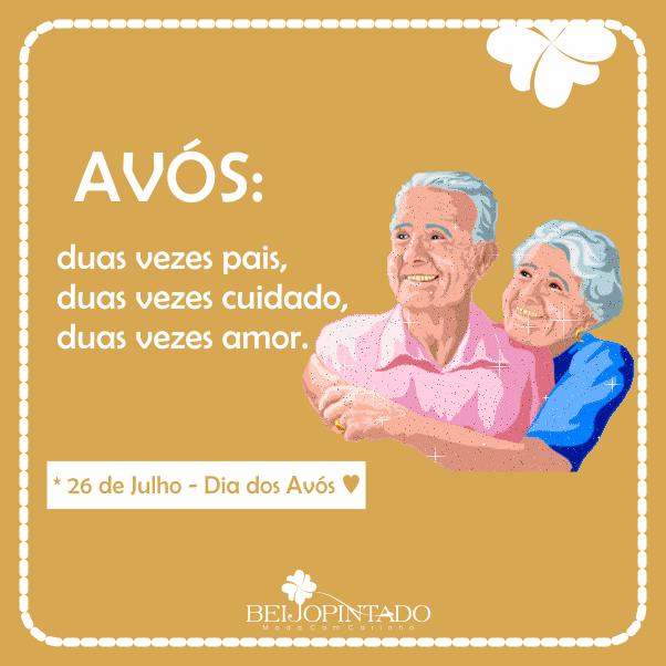 Feliz Dia dos Avós. ♥