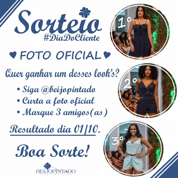 Sorteio no Instagram ♥