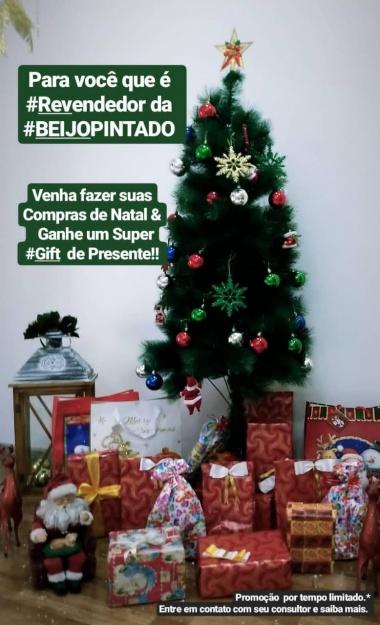 Promoção de Natal da Beijo Pintado